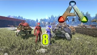 Ark: Survival Evolved| Ep.8 Online| Carnotaurus and the Spinosaurus | 320 x 180 jpeg 17kB