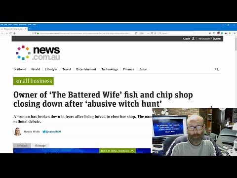 Bizzare/Sad News - Fish 'n' Chip shop to close because of it's name
