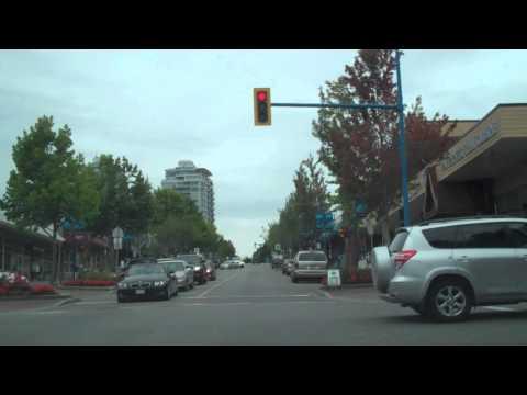 Flashing Green Traffic Light Operation – White Rock, B.C.