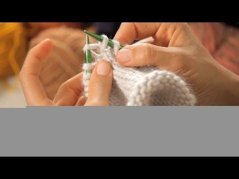How to Increase on Circular Needles | Circular Knitting