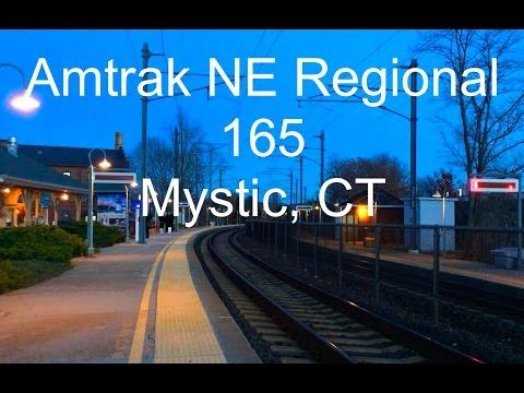 Amtrak NE Regional, Mystic, CT