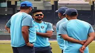 Watch: Rohit and co. focus on short ball at training ahead of SL tie | Nidahas Trophy