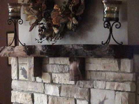 Fossil Fire Wood Burning Fireplace