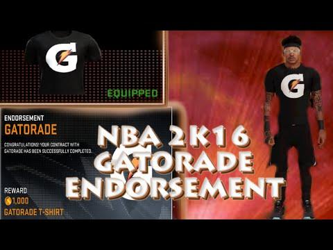 NBA 2K16: GATORADE ENDORSEMENT