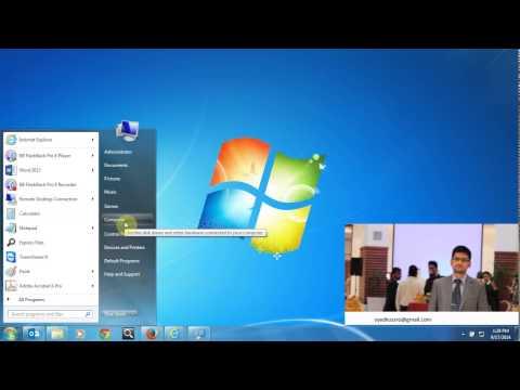 how to configure telnet server in windows 7