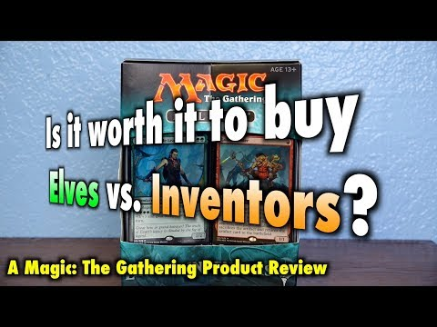 MTG - Is it worth it to buy Elves vs Inventors? The final Magic: The Gathering Duel Deck