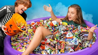 How to Get Candy on Halloween / Funny Awkward Moments