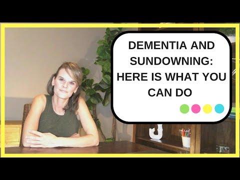 Dementia and Sundowning: Tips to help you manage sundowning