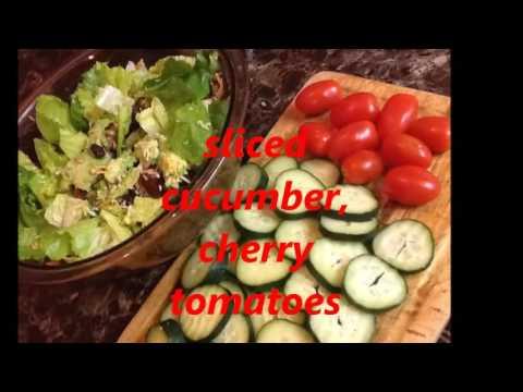 Easy Garden Salad