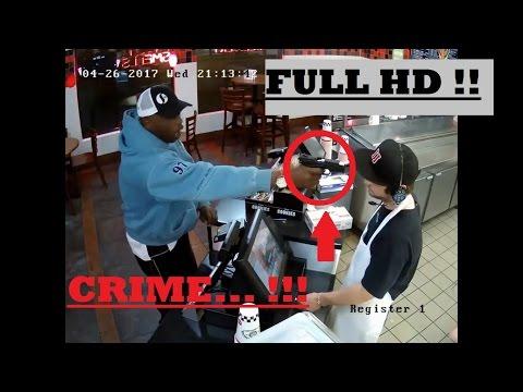 Jimmy Johns Armed Robbery in Kansas City - FULL HD !
