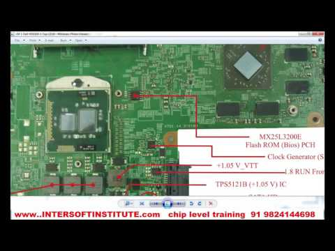 Laptop repair Training power sequence of dell N5010, how laptop motherboard power on  Demo