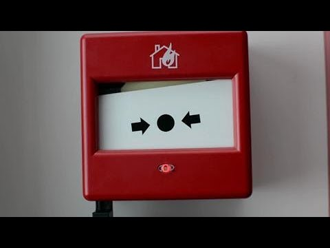 How to test an Eaton manual call point - Fire alarm break-glass