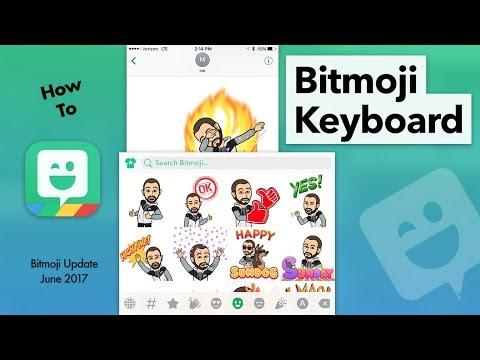 How to Use Bitmoji Keyboard