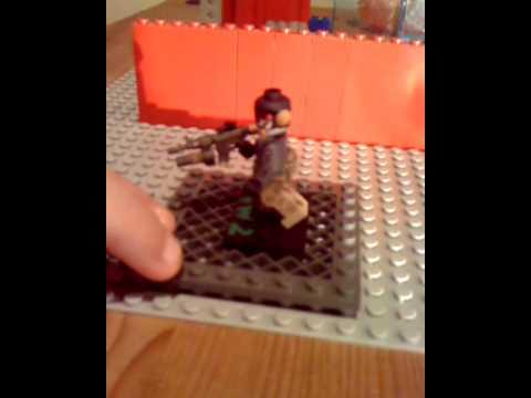 Lego MW2 Ghost custom