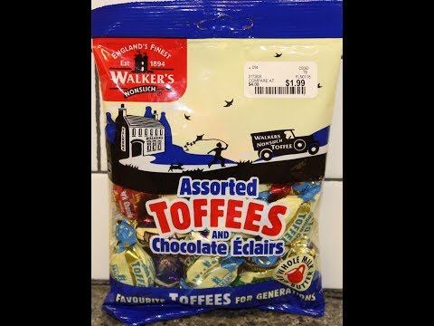 Walker's Nonsuch Assorted Toffees and Chocolate Éclairs Review