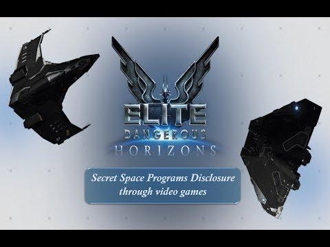 Secret Space Programs Disclosure Through Video Games Elite Dangerous & Black Ops Programs