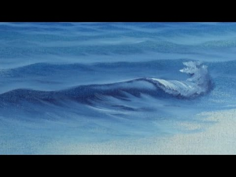 Fan Brush Sea - Painting Lesson