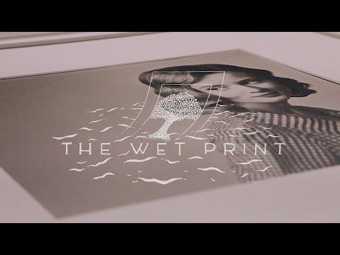 Carbon Transfer Prints- The Wet Print