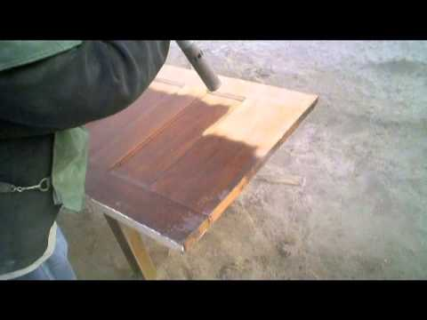Blast It Clean - Wood Stain and Paint Removal Highlight