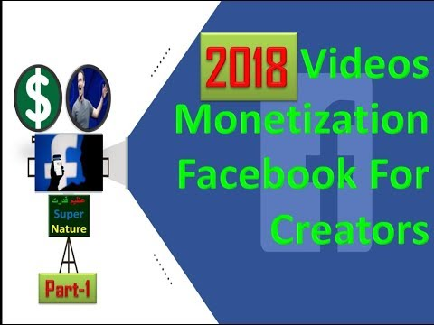 Earn Money Facebook Video Monetization Facebook for creators 2018 Azeem Qudrat