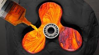 Diy Lava Fidget Spinner