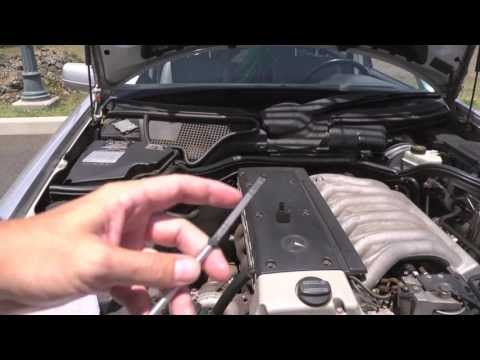 Mercedes automatic transmission inspection