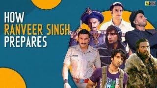 From Band Baaja Baaraat to Gully Boy | How Ranveer Singh Prepares | Film Companion