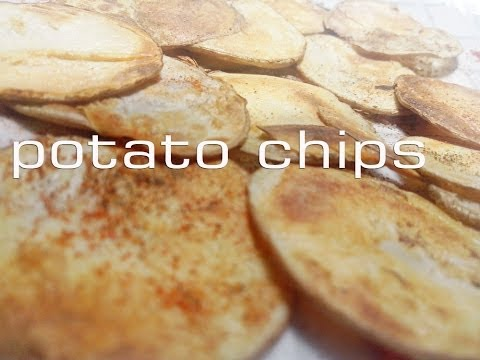 Potato chips without OIL & OVEN