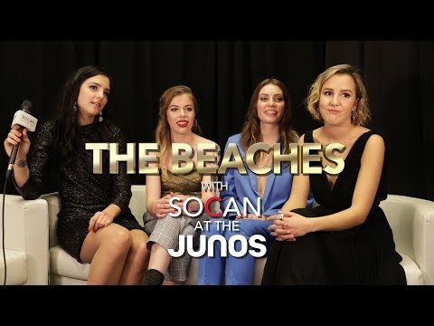 SOCAN at the JUNOs - The Beaches