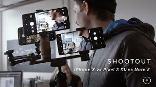 iPhone X vs Pixel 2 XL vs Note 8 | Camera Shootout