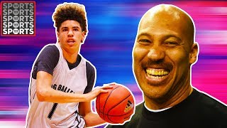 LaMelo Ball Throwing Windmill Dunks at 16 Years Old!