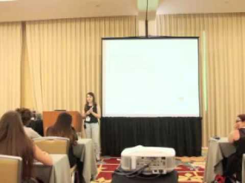 Zina Kumok speaking at ScholarCon 2015