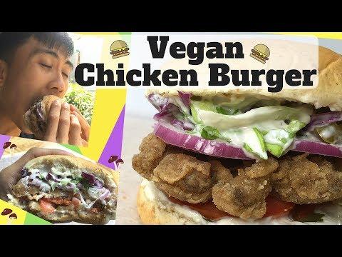 Crispy and Tender | No Chicken Fried Chicken Burger | Vegan Fast Food
