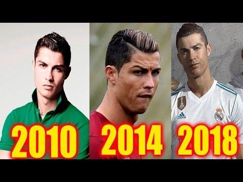 20 Most Popular Cristiano Ronaldo Haircuts 2007-2018