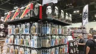 Star Wars Celebration Orlando 2017 Exhibition Floor.