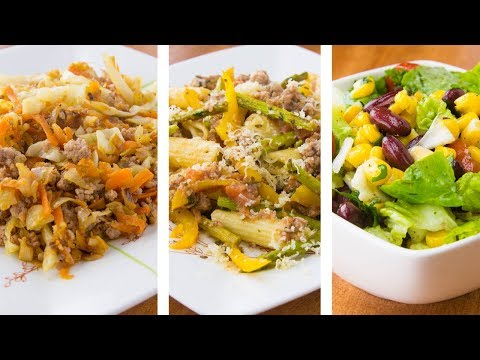 3 Healthy Low Calorie Meals For Weight Loss   Weight Loss Recipes
