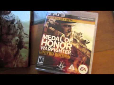 Medal of Honor: Warfighter (Limited Edition) - Steelbook - (Unboxing)