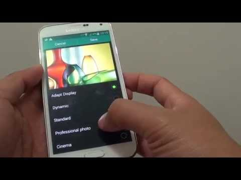 Samsung Galaxy S5: How to Change the Screen Mode