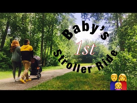 Vlog// Baby's First Stroller Ride! We Go on a Walk| Teen Parents at 18