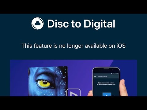 VUDU removes Disc-To-Digital scanning from iOS app | Mark David Zahn