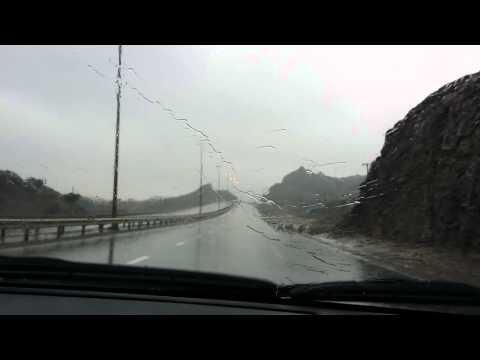 Dibba Al Fujairah rains today - amazing