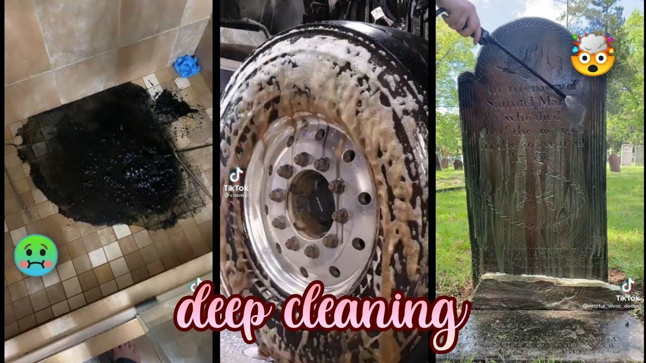 Satisfying Deep Cleaning TikTok Compilation #22 ✨  Vlogs from TikTok