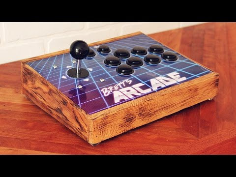 DIY Arcade from Pallet Wood