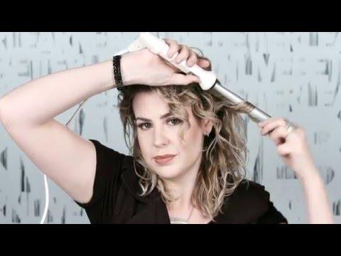Curly Hair Tutorial: How to Style Medium Length Wavy Hair