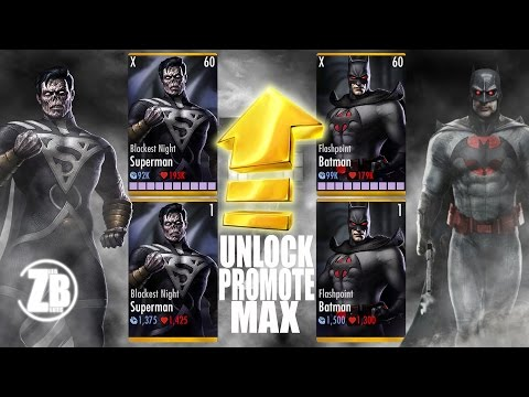 Injustice 2.14 | how to unlock / hack / get Blackest night superman and Flashpoint batman