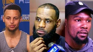 NBA 2K18 - Stephen Curry, LeBron James, & Kevin Durant React To Their Loyalty Ratings