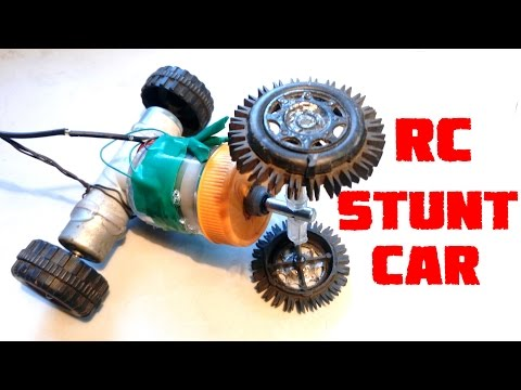 How to Make a Remote Control Stunt Car At Home Easy Way