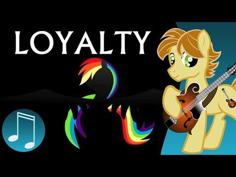 Loyalty - original MLP music by AcousticBrony & MandoPony