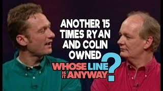 "Another 15 Times Ryan AND Colin Owned ""Whose Line Is It, Anyway?"""