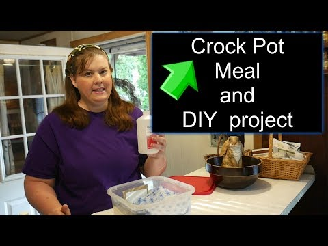 Crockpot Wednesday and a Project